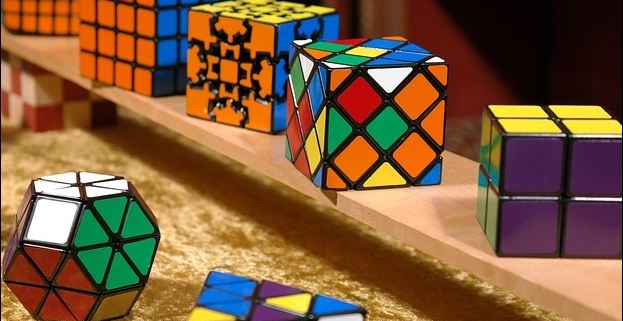 Selection of puzzle cubes